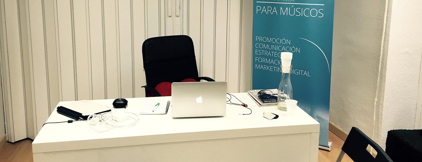 Nuevas oficinas de Top Artist Promotion en Madrid
